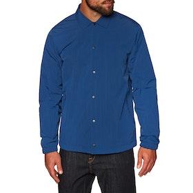Oakley Nylon Icon Coach Jacket - Dark Blue