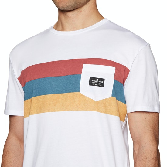 Quiksilver Peaceful Progression Mens Short Sleeve T-Shirt