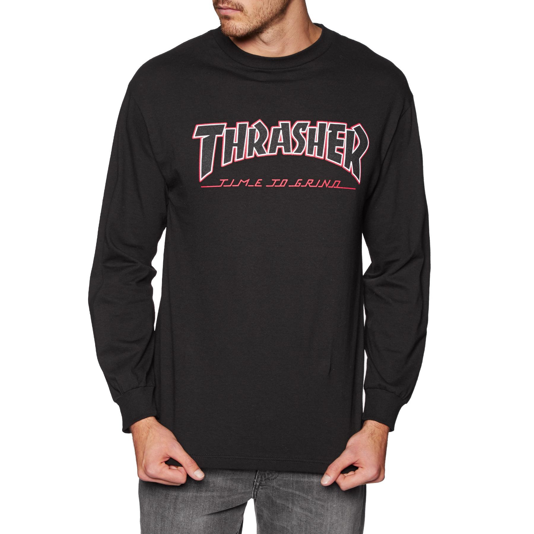 T Shirt à Manche Longue Independent X Thrasher Collab TTG