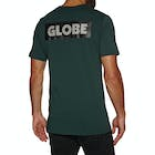 Globe Sticker Ii Short Sleeve T-Shirt