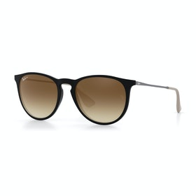Ray-Ban Erika Polarised Womens Sunglasses - Havana ~ Brown Gradient