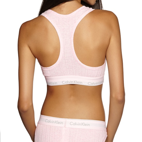 Calvin Klein Modern Cotton Rib Unlined Bralette Womens Bra