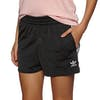 Adidas Originals 3 Stripes Damen Laufshorts - Black