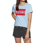 Levi's The Perfect Logo Print Short Sleeve T-Shirt