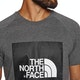North Face Raglan Red Box Short Sleeve T-Shirt