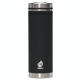 Mizu V7 with Steel Lid Flask - Enduro Black
