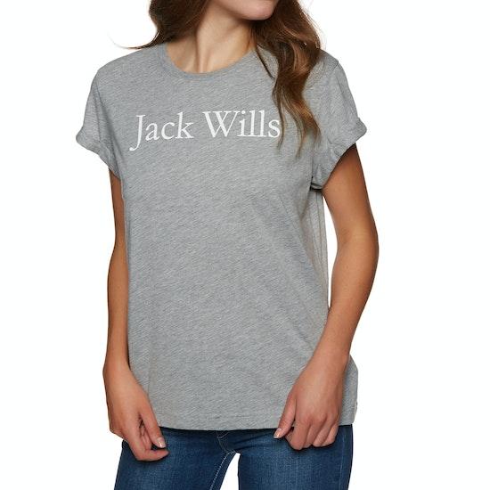 Jack Wills Forstal Boyfriend Womens 半袖 T シャツ