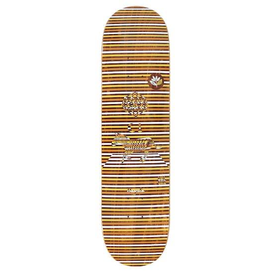 Magenta Gore Perceptions 8 Inch Skateboard Plank