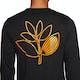 Magenta Plant Outline Long Sleeve T-Shirt
