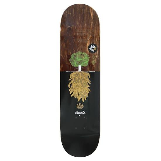 Magenta Day Tree 8.25 Inch Skateboard Plank