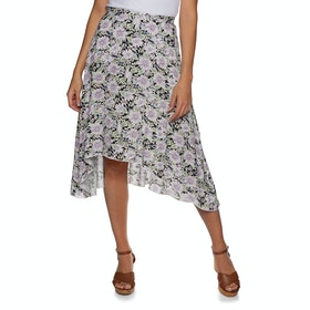 The Hidden Way Spirit Skirt - Floral Pattern