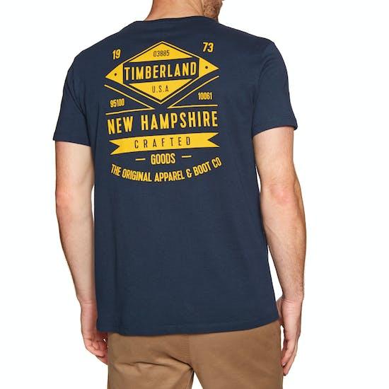 34a708ecda7 Timberland Kennebec River BK Graphic Short Sleeve T-Shirt available ...