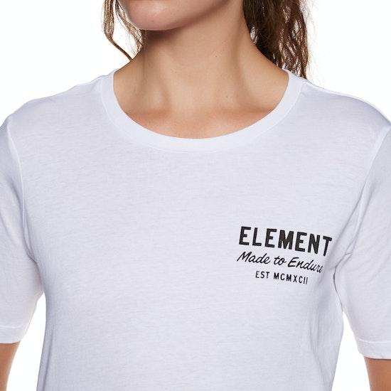 T-Shirt à Manche Courte Femme Element Made to Endure