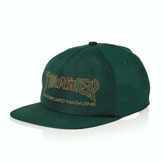 Thrasher Davis Snapback Cap