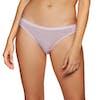 Cuecas Senhora Icebreaker Siren Bikini Thermal - Blush Stripe