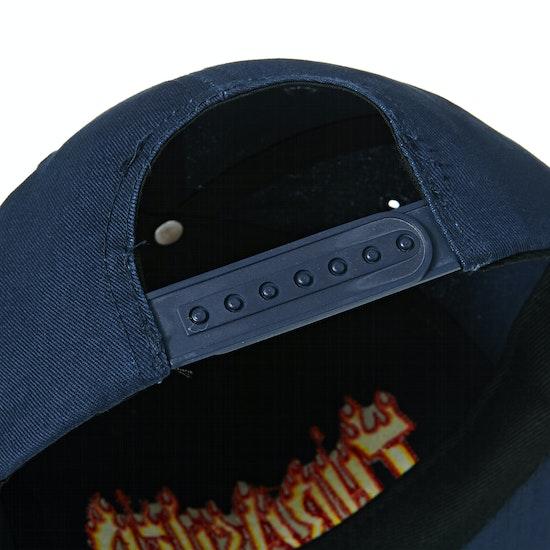 Thrasher Flame Rope Snapback Mütze