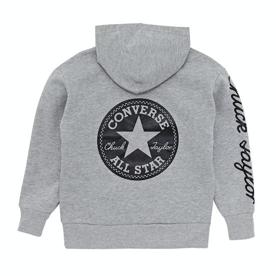 Converse Chuck Taylor Graphic Oversize Kids プルオーバーパーカー