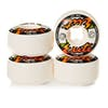 OJ Elites Ez Edge 101a Skateboard Wheel - White