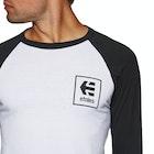 Etnies Stack Box Raglan Mens Long Sleeve T-Shirt