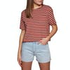 SWELL Eddie Crop Womens Short Sleeve T-Shirt - Stripe