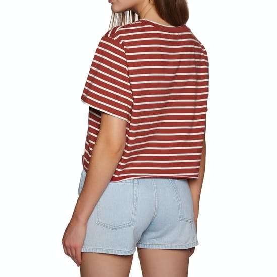 SWELL Eddie Crop Womens Short Sleeve T-Shirt