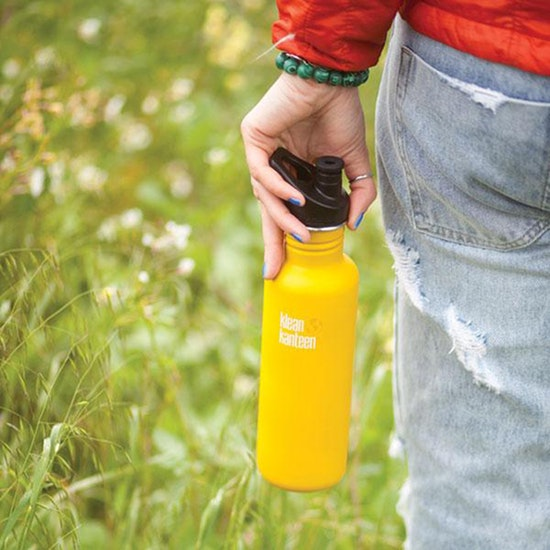 Klean Kanteen Classic 800ml With Sport Cap Water Bottle