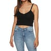 SWELL Cropped Knit Womens Top - Black
