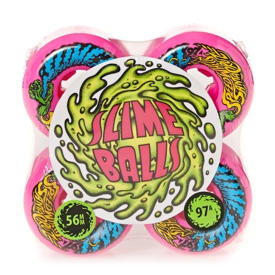 Ruota Skateboard Santa Cruz Slime Balls Mini Vomits 97a 56mm