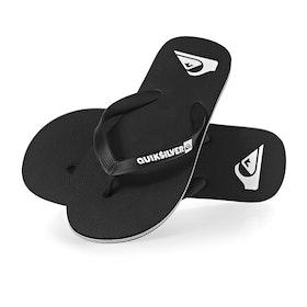 Sandales Quiksilver Molokai - Black Black White
