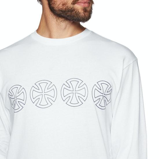 Vans X Independent Iron Cross Long Sleeve T-Shirt