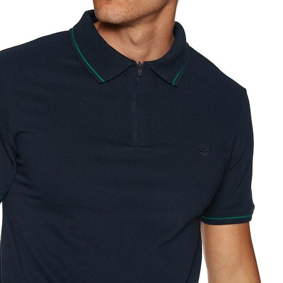 Timberland Piquet Zip Polo-Shirt
