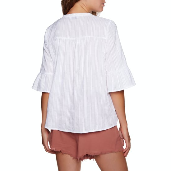 SWELL Faraway Smock Blouse Womens Top