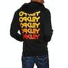 Oakley Fleece Oakley Loop Zipped Zip Hoody - Blackout