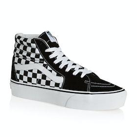 Vans SK8 Hi Platform 2.0 Shoes - Checkerboard