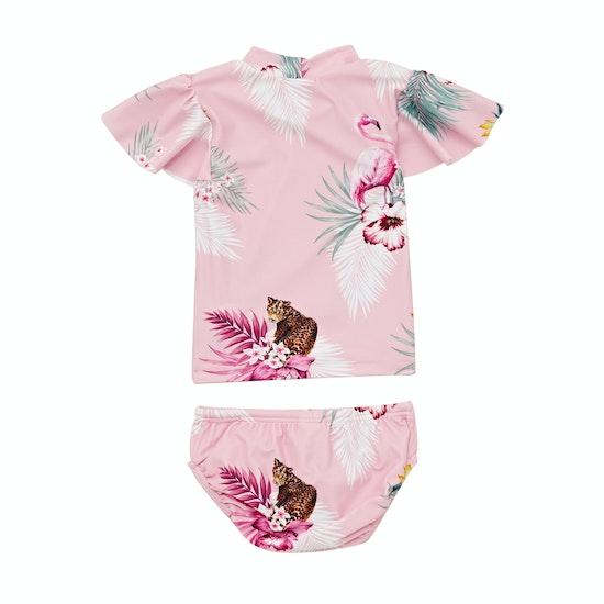Seafolly Into The Wild Baby Rashie Set Girls Rash Vest