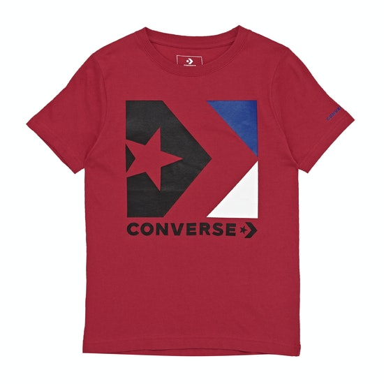 Converse Star Chevron Box Kids Short Sleeve T-Shirt