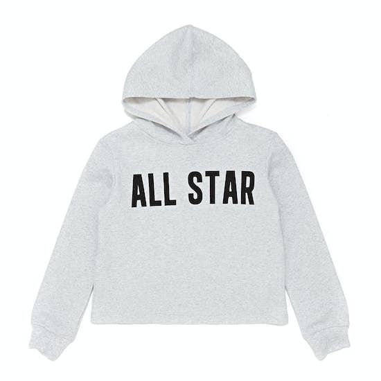 Converse All Star Cropped Kids Pullover Hoody