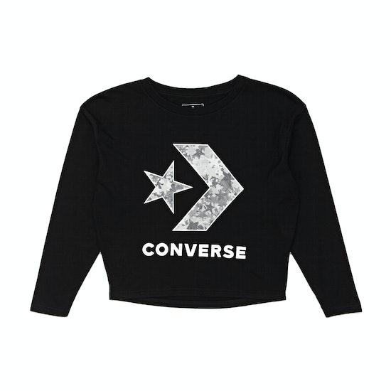 Converse Oversized Star Chevron Knit Kids Top