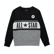 Converse All Star Panelled Crew Kids Sweater