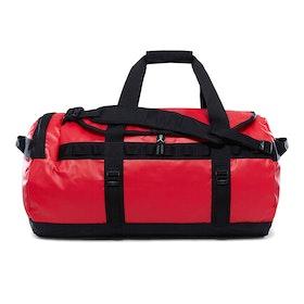 North Face Base Camp Medium Duffle Bag - TNF Red TNF Black