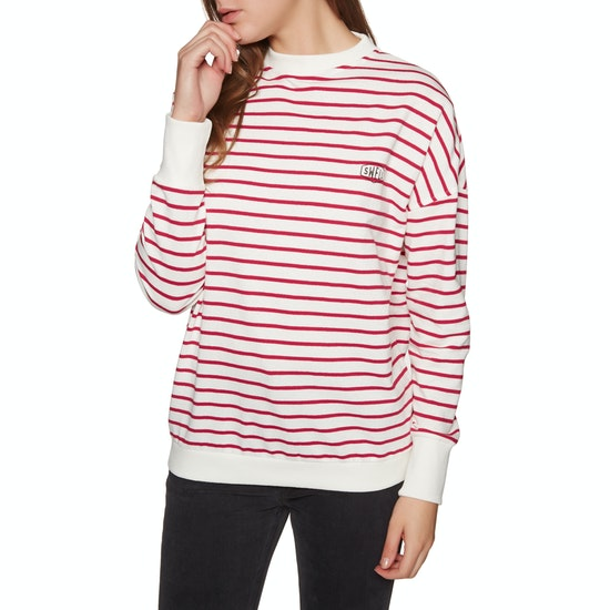 SWELL Aloha Stripe Crew Womens Sweater