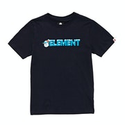 T-Shirt de Manga Curta Boys Element Snow