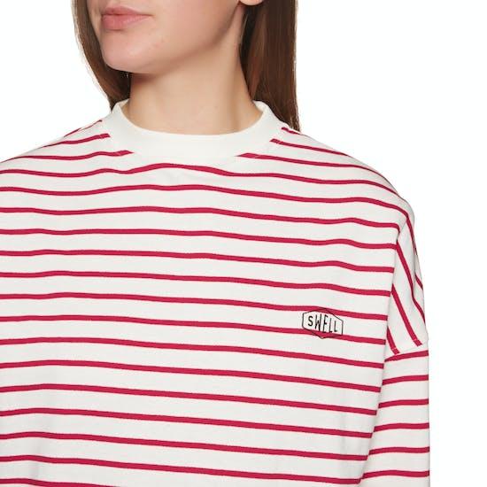 SWELL Aloha Stripe Crew Womens Sweater