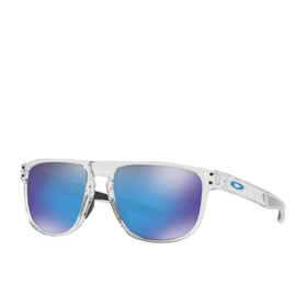 Oakley Holbrook XL Sunglasses - Polished Clear~prizm Sapphire Polarized