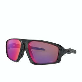 Oakley Field Jacket Sunglasses - Polished Black~prizm Road