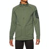 Burton Ak Grid Half Zip Fleece - Dusty Olive