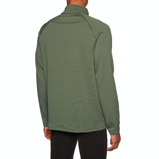 Burton Ak Grid Half Zip Fleece