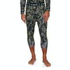 Planks Fall-line Base Layer Leggings - Stone Camo