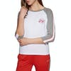 T-Shirt de Manga Curta Jack Wills Henstridge Raglan - Grey Marl