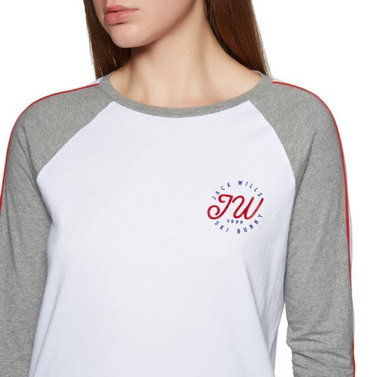 T-Shirt de Manga Curta Jack Wills Henstridge Raglan
